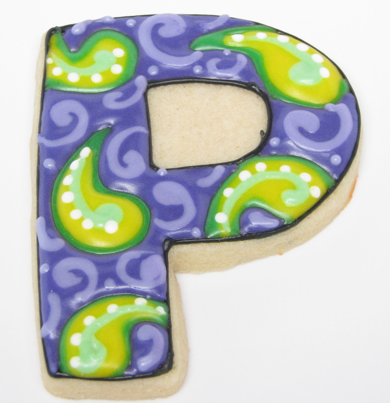 Letter And Number Cookie Gift Ideas